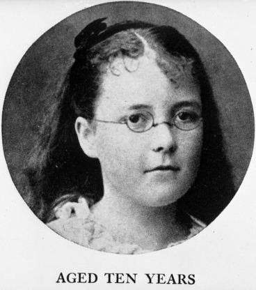 Image: Katherine Mansfield aged 10