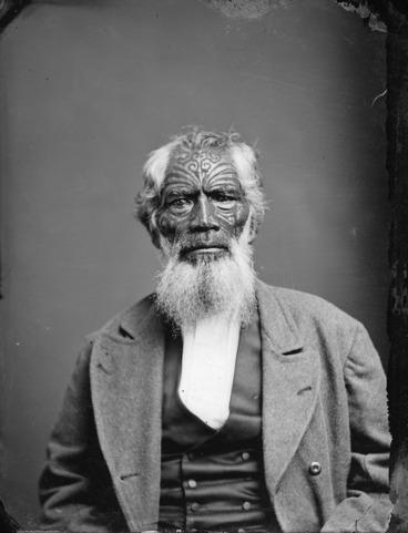 Image: Maori man from Hawkes Bay