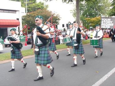 Image: Highland Pipe Band