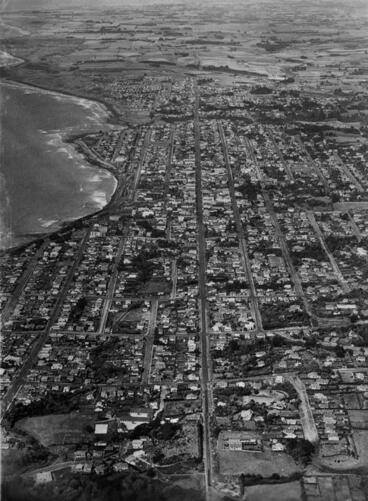 "Image: ""Aerial View, New Plymouth, N.Z."""