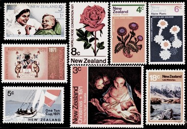 Image: New Zealand postage stamps