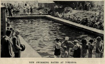 Image: NEW SWIMMING BATHS AT TOKOROA