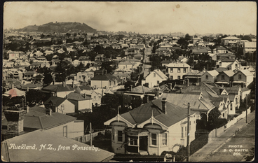 Image: Auckland NZ, from Ponsonby