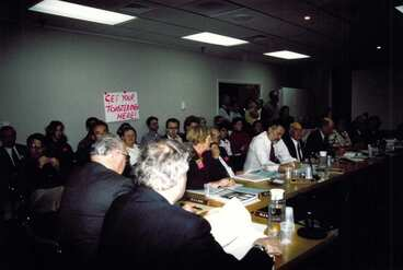 Image: Auckland City Council meeting 1997