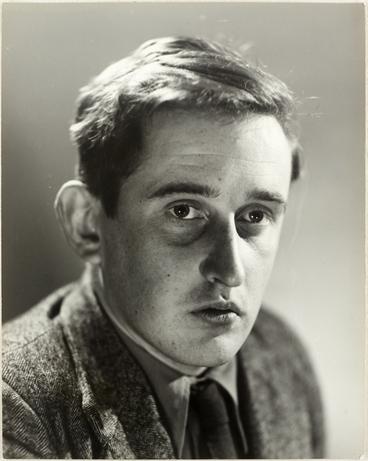 Image: Head and shoulders portrait of James Keir Baxter