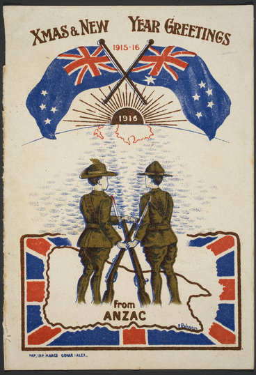 Image: ANZAC Christmas card from Turkey