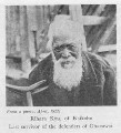 Image: From a photo, April, 1922] — Rihara Kou, of Kaikohe — Last survivor of the defenders of Ohaeawai