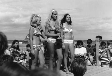 Image: 1960s bathing suit contest