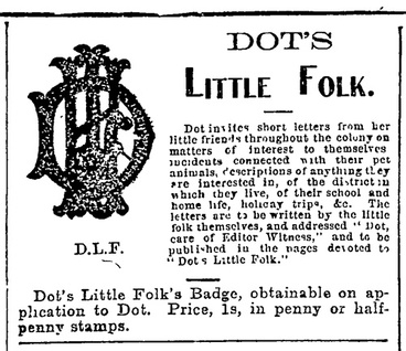Image: Letters to Dot