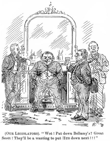 Image: MPs' perks cartoon, 1893