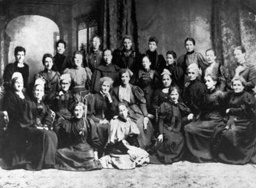 Image: National Council of Women, Christchurch, 1896