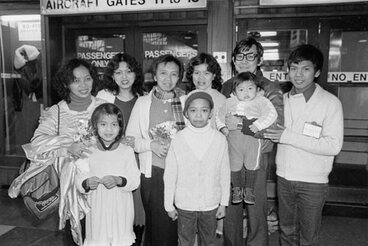 Image: Cambodian refugees, 1983