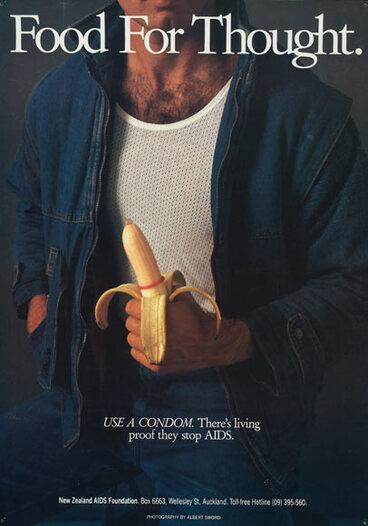 Image: Condom poster
