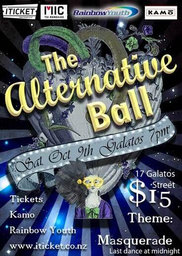 Image: Alternative ball poster