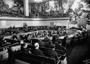 Image: New Zealand in the League of Nations