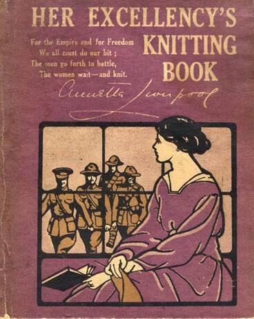 Image: Lady Liverpool's knitting book