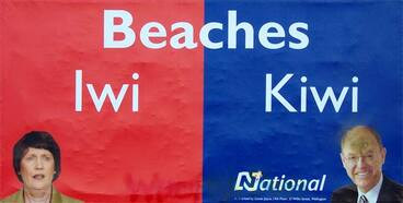 Image: Iwi/kiwi billboard