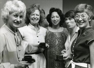 Image: Five women members of Parliament