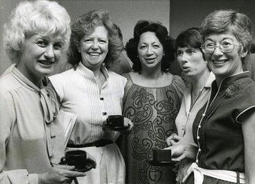 Image: Five women members of Parliament
