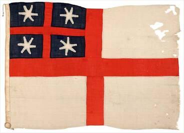 Image: United Tribes' flag: New Zealand Company flag, 1839