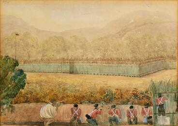 Image: Battle of Ōhaeawai, 1845