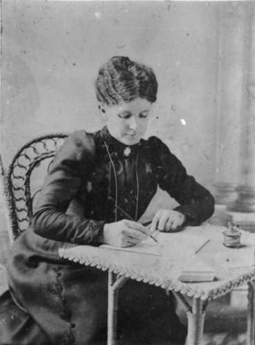 Image: Mary Jane Innes, manager of breweries in the Waikato from 1888 until 1907