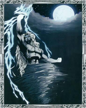 Image: Tāwhirimātea, god of weather
