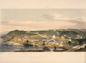 Image: New Plymouth in 1843