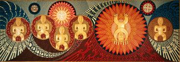 Image: 'Te wehenga o Rangi rāua ko Papa'