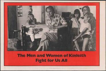 Image: Kinleith strike poster, 1980