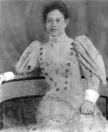 Image: Portrait of Meri Te Tai Mangakahia