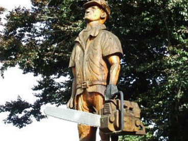 Image: Pine man, Tokoroa