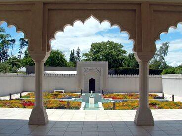 Image: Indian garden, Hamilton Gardens