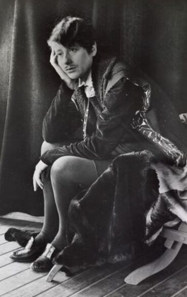 Image: Ngaio Marsh as Hamlet