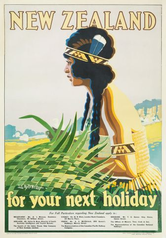 Image: Poster, 'New Zealand for your next holiday'