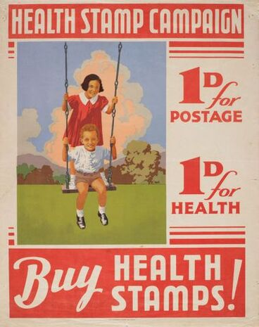 Image: Poster, 'Health Stamp Campaign'