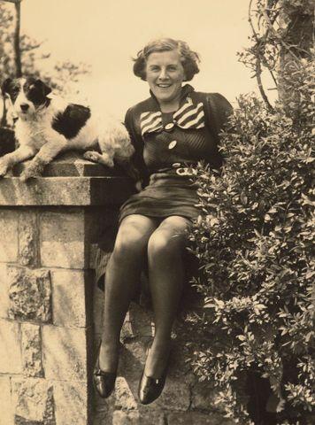 Image: Paddy Johnson and dog