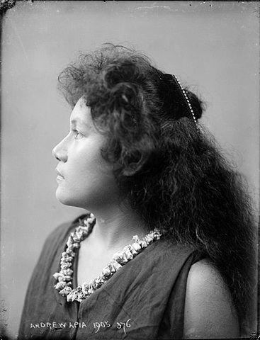 Image: [Samoan girl]