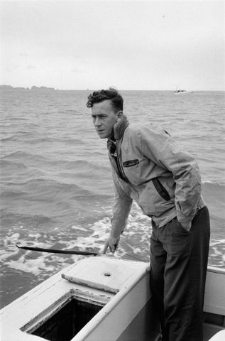 Image: Bay of Islands fisherman