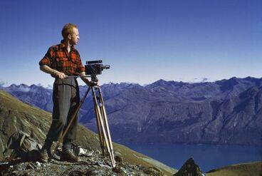 Image: Brian Brake above Glenorchy, Otago