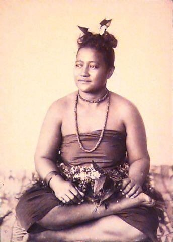 Image: Samoan woman