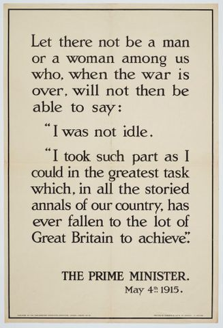 Image: Poster, 'Let there not be a man'