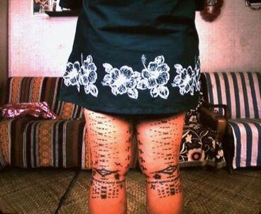 Image: 'Epi, Malu, the womens tattoo'