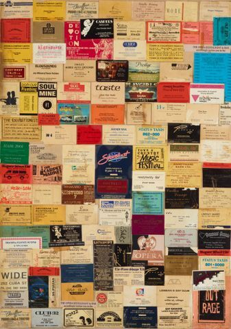 Image: Collage of business cards