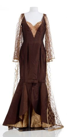 Image: Dress with attached coat