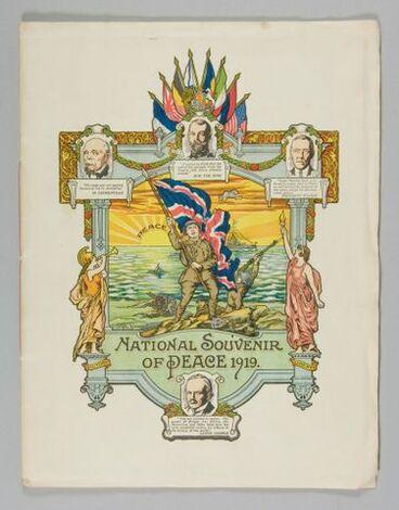 Image: 'National Souvenir of Peace 1919'