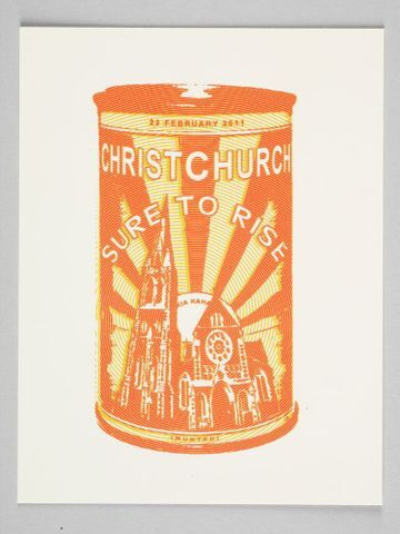 Image: Postcards, 'Christchurch Sure to Rise'