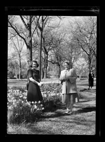 Image: Doreen Blumhardt and May Keys at Hagley Park