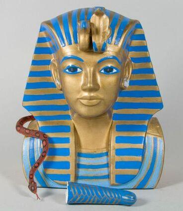 Image: Bust of Tutankhamun