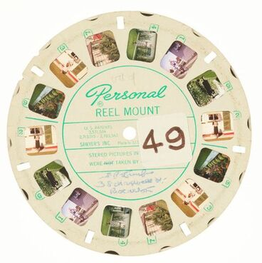 Image: View-Master reel, [Back Lawn]